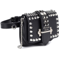 vespagirl - PRADA Cahier studded leather belt bag - Hand bag - $1,940.00