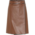 beautifulplace - PRADA Leather skirt - Skirts -