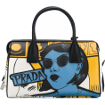 JecaKNS - PRADA cartoon lady bowling tote - Clutch bags -
