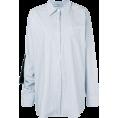 JecaKNS - PRADA oversized striped shirt - Shirts -