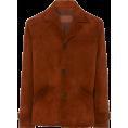 HalfMoonRun - PRADA suede jacket - Suits -