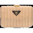 beautifulplace - PRADA wicker clutch bag - Clutch bags -