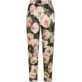 beautifulplace - PRINTED BROCADE PANTS D&G - Capri hlače -