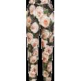 beautifulplace - PRINTED BROCADE PANTS D&G - Capri & Cropped -