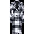beautifulplace - Paco Rabanne Tailored Wool Gingham Coat - Jacket - coats -
