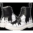 victoriaismine - Paint Drip Boots - Botas -