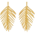 Aaliyah Johnson - Palm Leaf Earring by Oscar de la Renta - Серьги - $999.00  ~ 754.36€