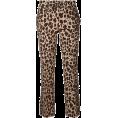lence59 - P.a.r.o.s.h. Cropped leopard print - Spodnie Capri -
