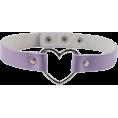 Jay Han - Pastel Purple Heart Choker - Ожерелья -