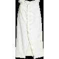 beautifulplace - Paulina Ruffle Stretch Organic Cotton Sk - Shirts -