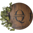 Belladonnasjoy - Personalized Wine Barrel Lazy Susan - Other - $89.00