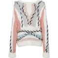 beautifulplace - Peter Pilotto Boatneck Multicolored Cott - Pullovers -