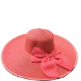 beautifulplace - Pink Bow Sunhat - Hat -