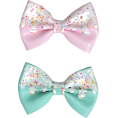 Jay Han - Pink & Mint Icing Sprinkles Hair Bow - Other jewelry -