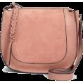 Aurora  - Pink Saddle Bag - Messenger bags -