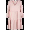 Aurora  - Pink Smock Dress - Vestidos -