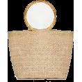 Maxines - Pixie Market Bamboo Ring Straw Bag - Сумочки -