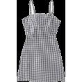 FECLOTHING - Plaid Back Cutout Bow Tie Dress - Vestiti - $27.99  ~ 24.04€