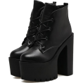 amethystsky - Platform Boots - Boots - $63.99