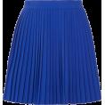 selenachh - Pleated crepe mini skirt - Skirts -