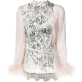 lence59 - Prada Printed feather - Long sleeves shirts -