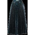 sandra  - Prada teal skirt - Skirts -