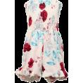 FECLOTHING - Print Off Shoulder Siamese Skirt - Dresses - $23.99