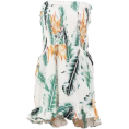 FECLOTHING - Print Off Shoulder Siamese Skirt - Obleke - $23.99  ~ 18.12€