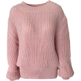FECLOTHING - Pullover sweater round neck sweater - Pullovers - $29.99