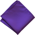 Maria Kuroshchepova - Purple pocket square  - Tie -