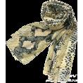 lence59 - Python-print scarf - Szaliki -