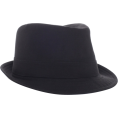 Quiksilver - Quiksilver Men's Chands Fedora Hat Haze Grey - ハット - $32.00  ~ ¥3,602
