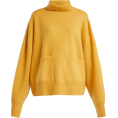 Qiou - RAEY  Pocket-front roll-neck cashmere sw - Pullovers -