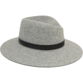 beautifulplace - RAG & BONE Zoe Grey Fedora - Hat -
