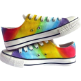 vespagirl - RAINBOW LOW CUT SHOES - Sneakers - $64.95