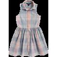 HalfMoonRun - RALPH LAUREN plaid shirt dress - Haljine -