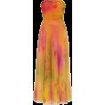 HalfMoonRun - RALPH LAUREN tulle printed dress - Obleke -