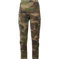 Cindy Pete  - RE/DONE Camouflage pants - Pantalones Capri -