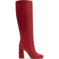 svijetlana2 - RED VALENTINO Leather Knee Boots - Boots -