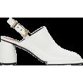 beautifulplace - REIKE NEN White Platform Mules - Classic shoes & Pumps -