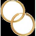 HalfMoonRun - REVERE gold earrings - Earrings -