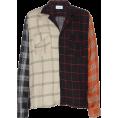 HalfMoonRun - RHUDE plaid flannel shirt - Shirts -