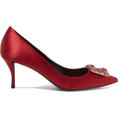 martinabb - ROGER VIVIER Crystal-embellished satin p - Classic shoes & Pumps -