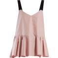 beautifulplace - ROKSANDA  Pepla peplum-hem poplin top - Tanks -