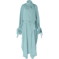 HalfMoonRun - ROLAND MOURET crepe tie neck coat - Dresses -