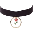 helloexo - ROSE CHOKER - Necklaces -