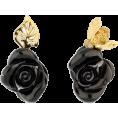 Georgine Dagher - ROSE DIOR PRÉ CATELAN EARRINGS IN 18K YE - Earrings -