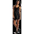 Rebecca Minkoff - Rebecca Minkoff - Clothing Women's Mariacarla Tank Dress Black - Dresses - $298.00