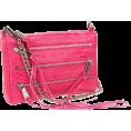 Rebecca Minkoff - Rebecca Minkoff  Mini 5 Zip Clutch Snake Clutch Fuschia - Clutch bags - $195.00