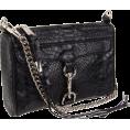 Rebecca Minkoff - Rebecca Minkoff  Mini Mac Clutch Snake Clutch Black - Clutch bags - $195.00